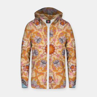 Thumbnail image of Indian Inspired Floral Mandala Design Zip up hoodie, Live Heroes