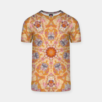 Thumbnail image of Indian Inspired Floral Mandala Design T-shirt, Live Heroes