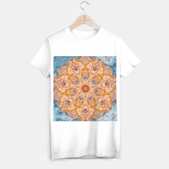 Thumbnail image of Indian Inspired Floral Mandala Design T-shirt regular, Live Heroes