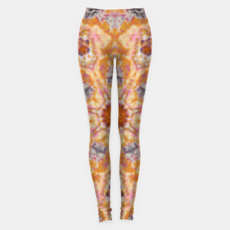 Thumbnail image of Indian Inspired Floral Mandala Design Leggings, Live Heroes