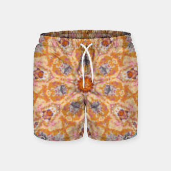 Thumbnail image of Indian Inspired Floral Mandala Design Swim Shorts, Live Heroes