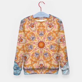 Thumbnail image of Indian Inspired Floral Mandala Design Kid's sweater, Live Heroes