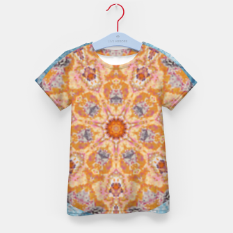 Thumbnail image of Indian Inspired Floral Mandala Design Kid's t-shirt, Live Heroes