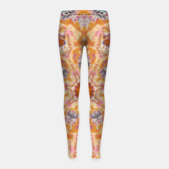 Thumbnail image of Indian Inspired Floral Mandala Design Girl's leggings, Live Heroes