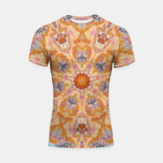 Thumbnail image of Indian Inspired Floral Mandala Design Shortsleeve rashguard, Live Heroes