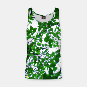 Thumbnail image of Green leaves Camiseta de tirantes, Live Heroes