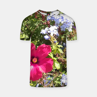 Thumbnail image of Hibisco bloom Camiseta, Live Heroes