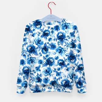 Thumbnail image of Blue Roses Kid's sweater, Live Heroes