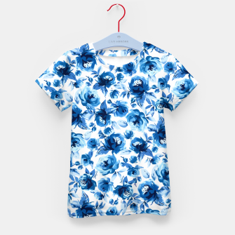 Thumbnail image of Blue Roses Kid's t-shirt, Live Heroes
