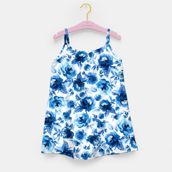 Thumbnail image of Blue Roses Girl's dress, Live Heroes