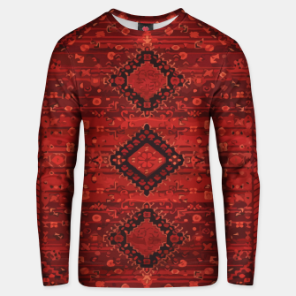 Thumbnail image of Boho Atlas Moroccan Traditional Design Illustration Unisex sweater, Live Heroes