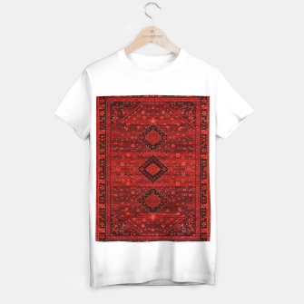 Thumbnail image of Boho Atlas Moroccan Traditional Design Illustration T-shirt regular, Live Heroes