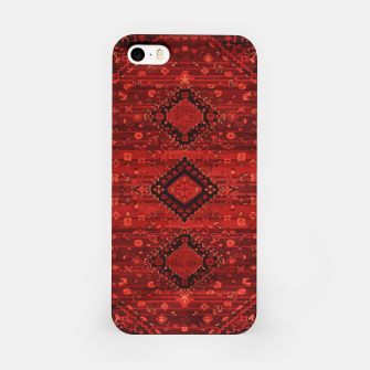 Thumbnail image of Boho Atlas Moroccan Traditional Design Illustration iPhone Case, Live Heroes