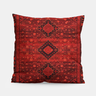 Thumbnail image of Boho Atlas Moroccan Traditional Design Illustration Pillow, Live Heroes