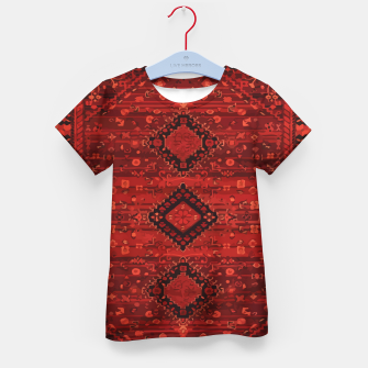 Imagen en miniatura de Boho Atlas Moroccan Traditional Design Illustration Kid's t-shirt, Live Heroes