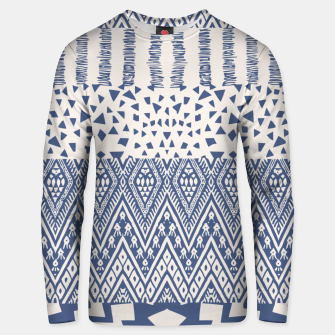 Thumbnail image of Farmhouse Rustic Boho Oriental Moroccan Shapes Design Unisex sweater, Live Heroes
