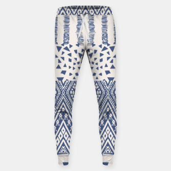 Thumbnail image of Farmhouse Rustic Boho Oriental Moroccan Shapes Design Sweatpants, Live Heroes