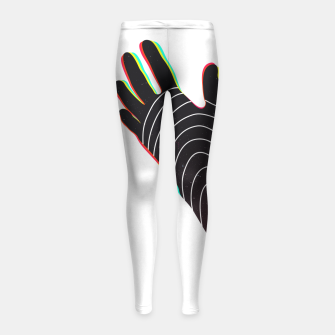 Thumbnail image of Black Lives Matter by #Bizzartino Girl's leggings, Live Heroes
