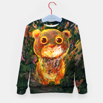 Thumbnail image of bear Kid's sweater, Live Heroes
