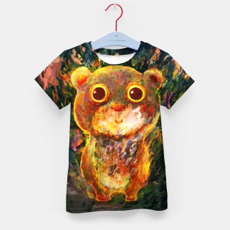 bear Kid's t-shirt obraz miniatury