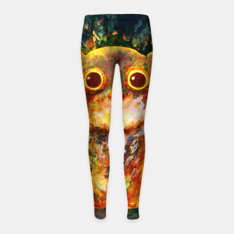 Thumbnail image of bear Girl's leggings, Live Heroes