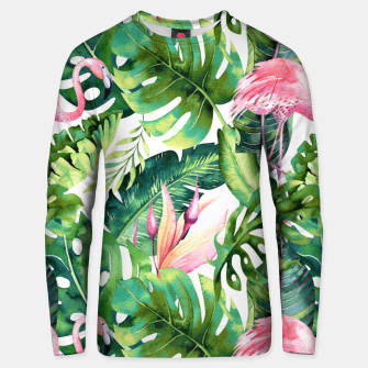 Thumbnail image of Flamingo Tropical II Unisex sweater, Live Heroes