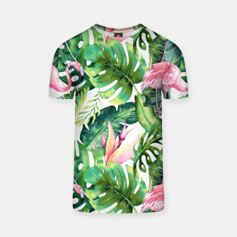 Thumbnail image of Flamingo Tropical II T-shirt, Live Heroes
