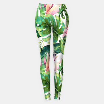 Thumbnail image of Flamingo Tropical II Leggings, Live Heroes