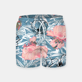 Thumbnail image of Backyard Palm Swim Shorts, Live Heroes