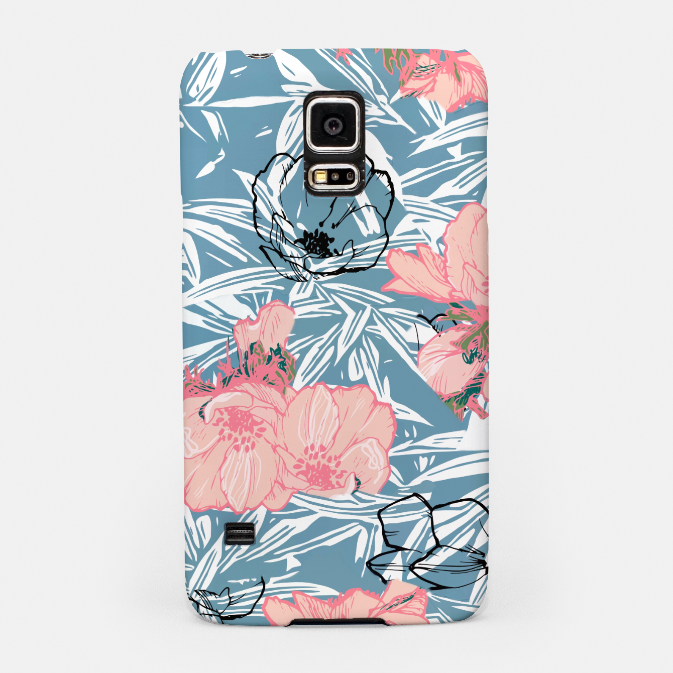 Image of Backyard Palm Samsung Case - Live Heroes