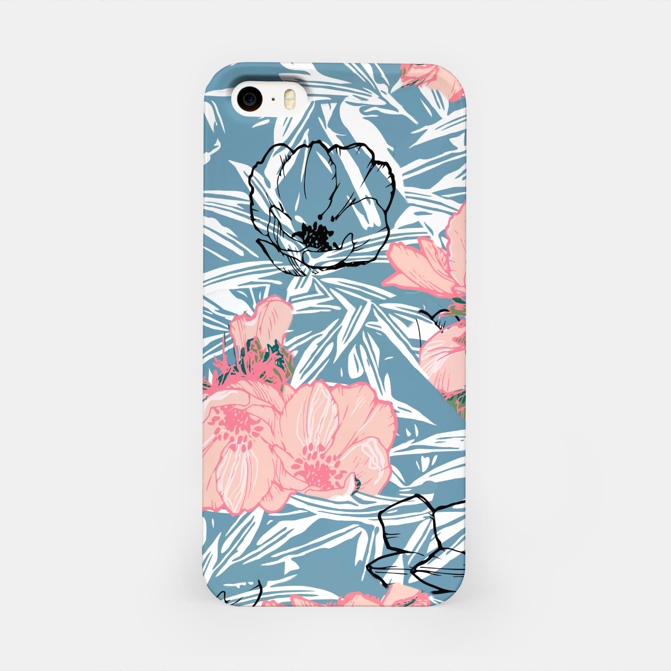 Image of Backyard Palm iPhone Case - Live Heroes