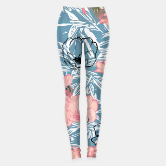 Thumbnail image of Backyard Palm Leggings, Live Heroes