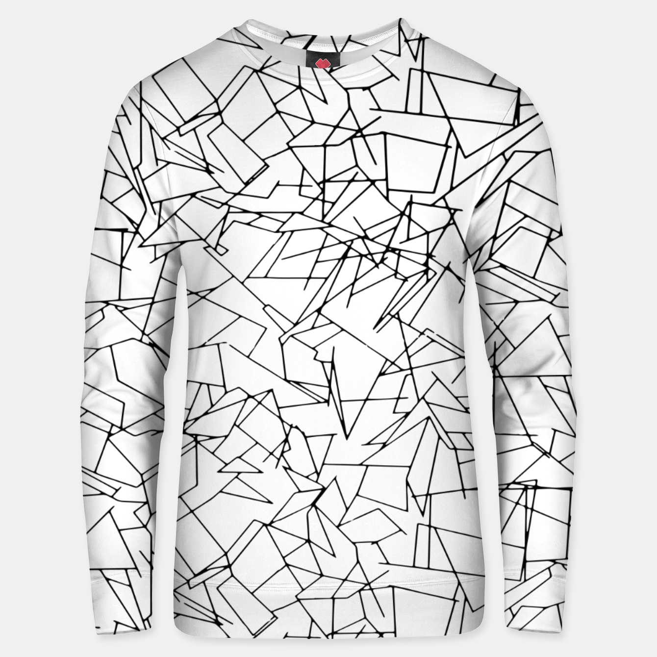 Image of B & W Mess Unisex sweater - Live Heroes