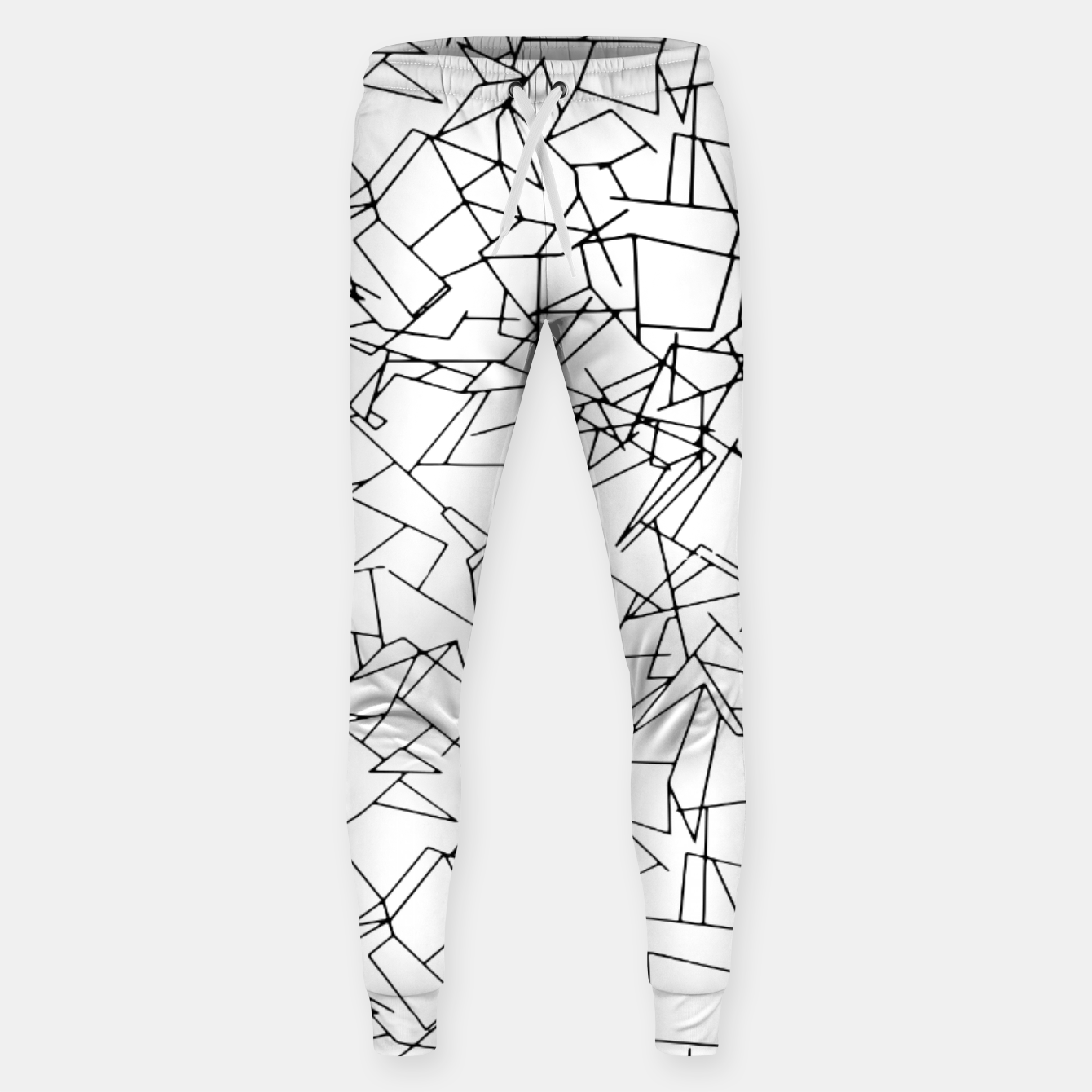 Image of B & W Mess Sweatpants - Live Heroes
