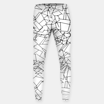 Thumbnail image of B & W Mess Sweatpants, Live Heroes