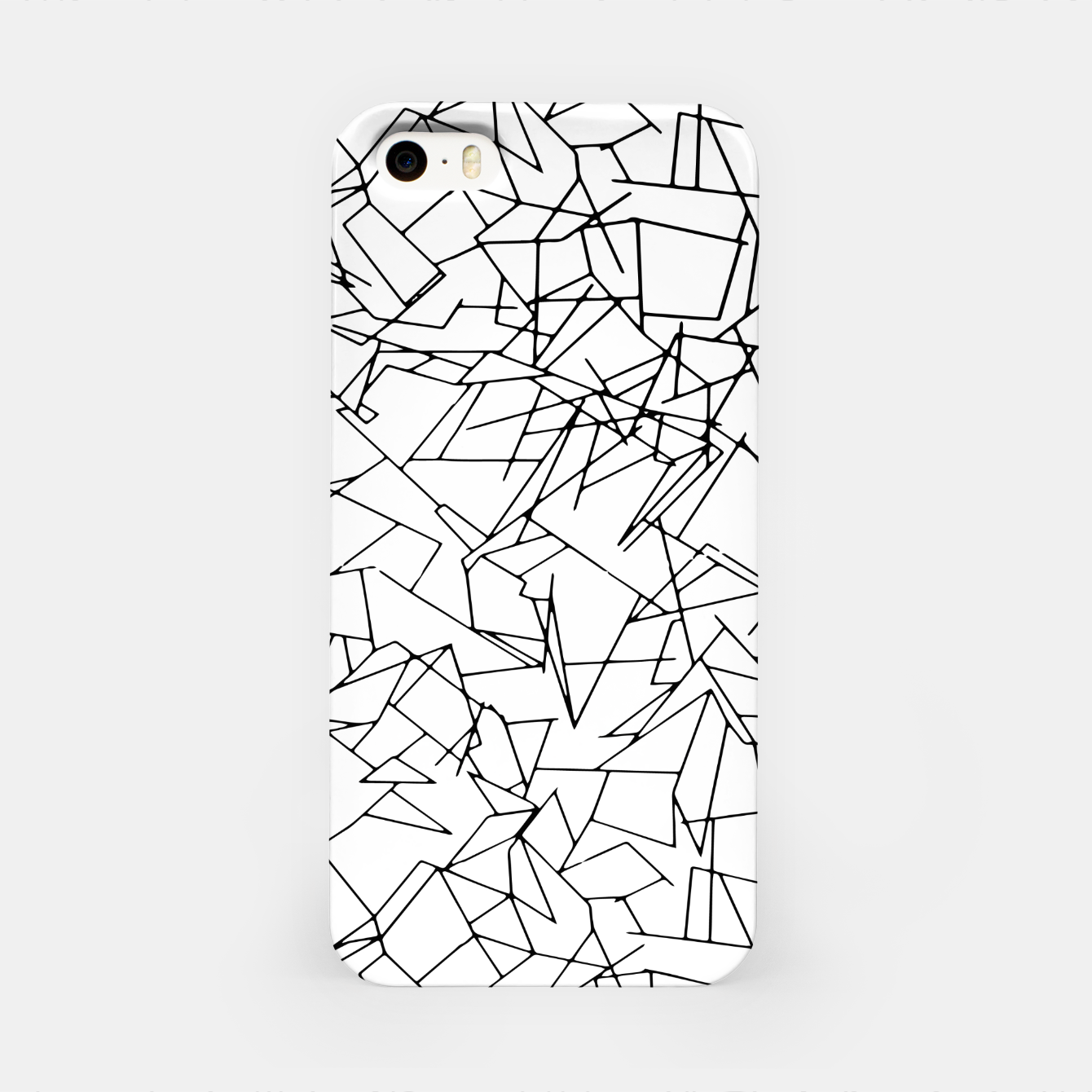 Image of B & W Mess iPhone Case - Live Heroes