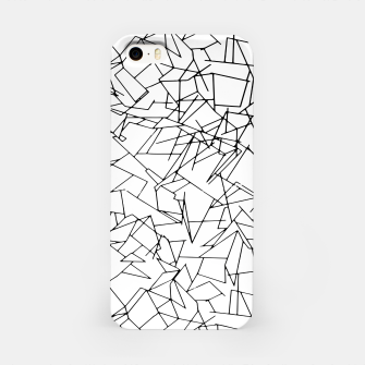 B & W Mess iPhone Case thumbnail image