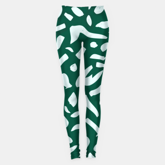 Thumbnail image of Deep Emrald Leggings, Live Heroes