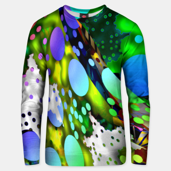 Thumbnail image of duplodots Unisex sweater, Live Heroes