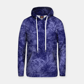 Dark purple violet marble textured suede granite smoke wall stone Hoodie thumbnail image