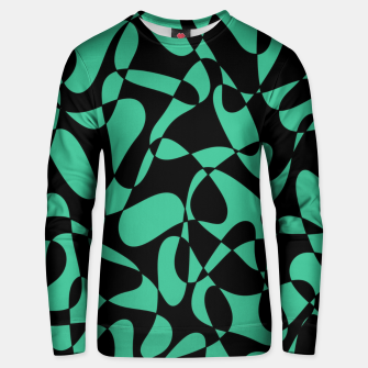 Thumbnail image of Abstract pattern - black and green. Unisex sweater, Live Heroes
