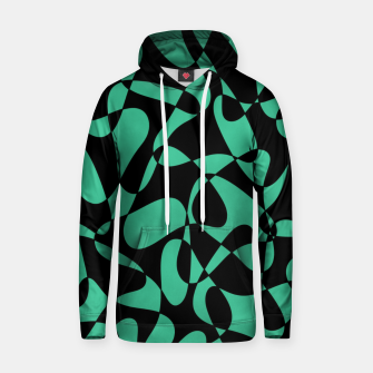 Thumbnail image of Abstract pattern - black and green. Hoodie, Live Heroes