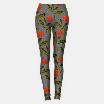 Miniature de image de Red Roses  Leggings, Live Heroes