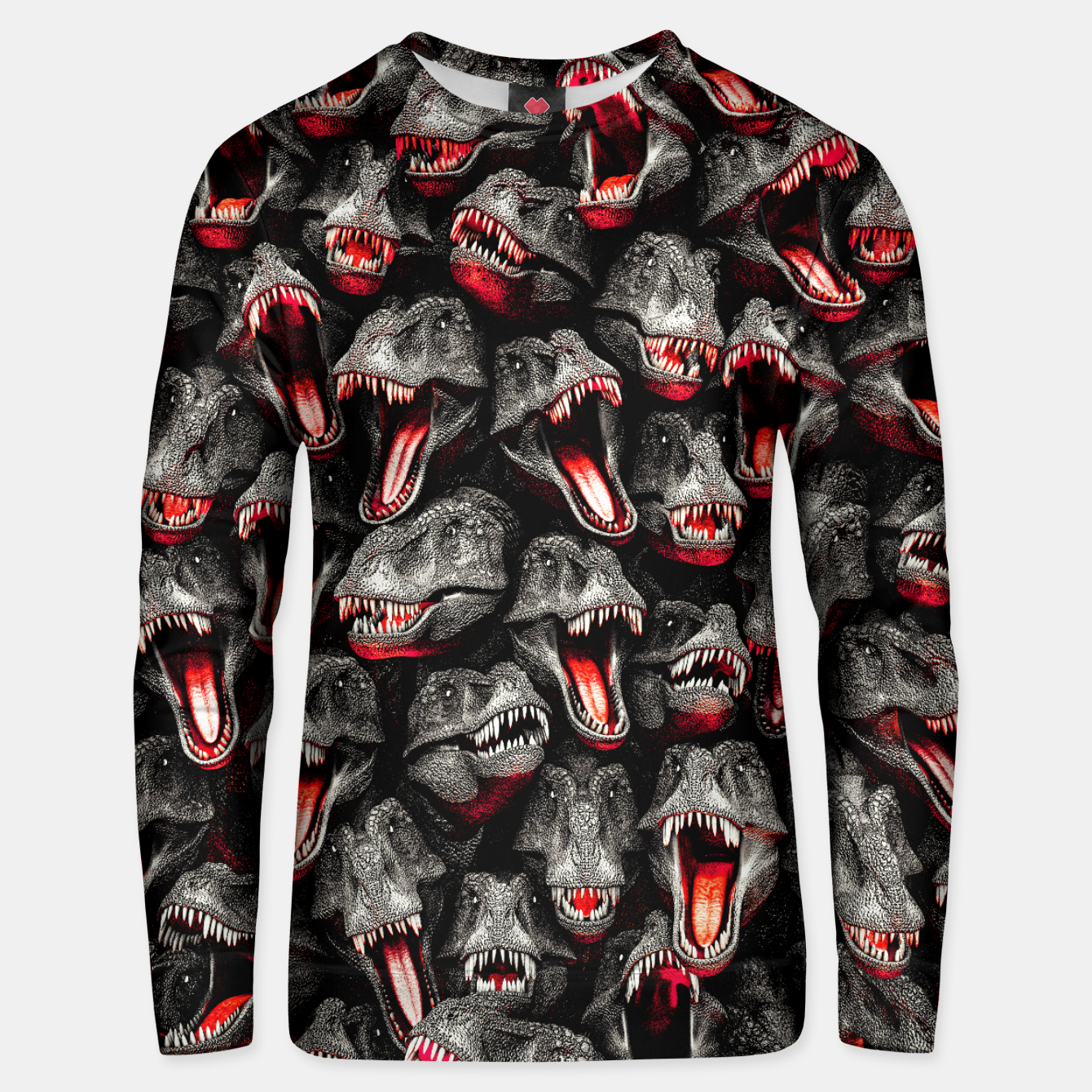Image of T-Rex Feeding Time Unisex sweater - Live Heroes