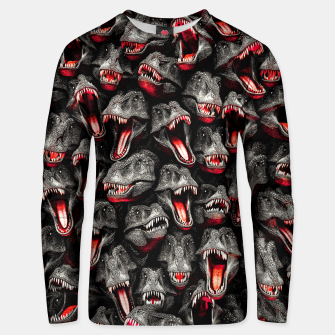 T-Rex Feeding Time Unisex sweater thumbnail image