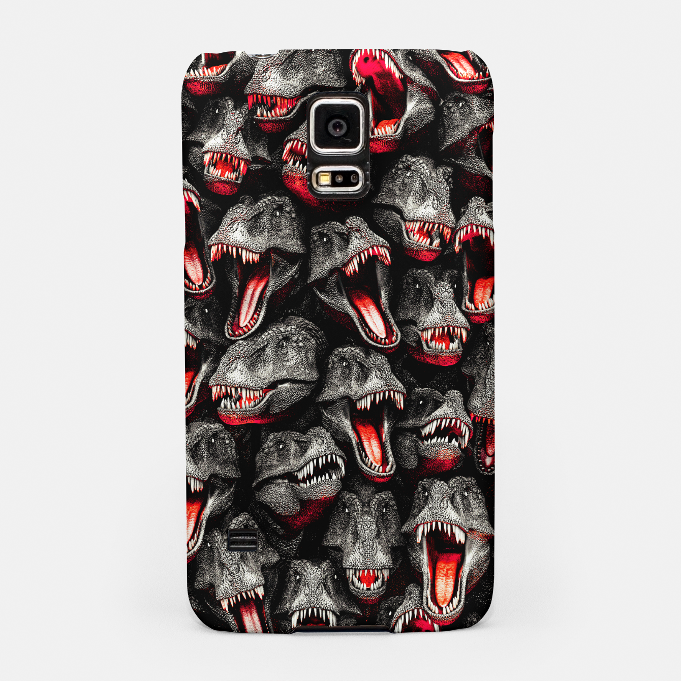 Image of T-Rex Feeding Time Samsung Case - Live Heroes