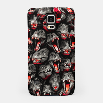 Thumbnail image of T-Rex Feeding Time Samsung Case, Live Heroes