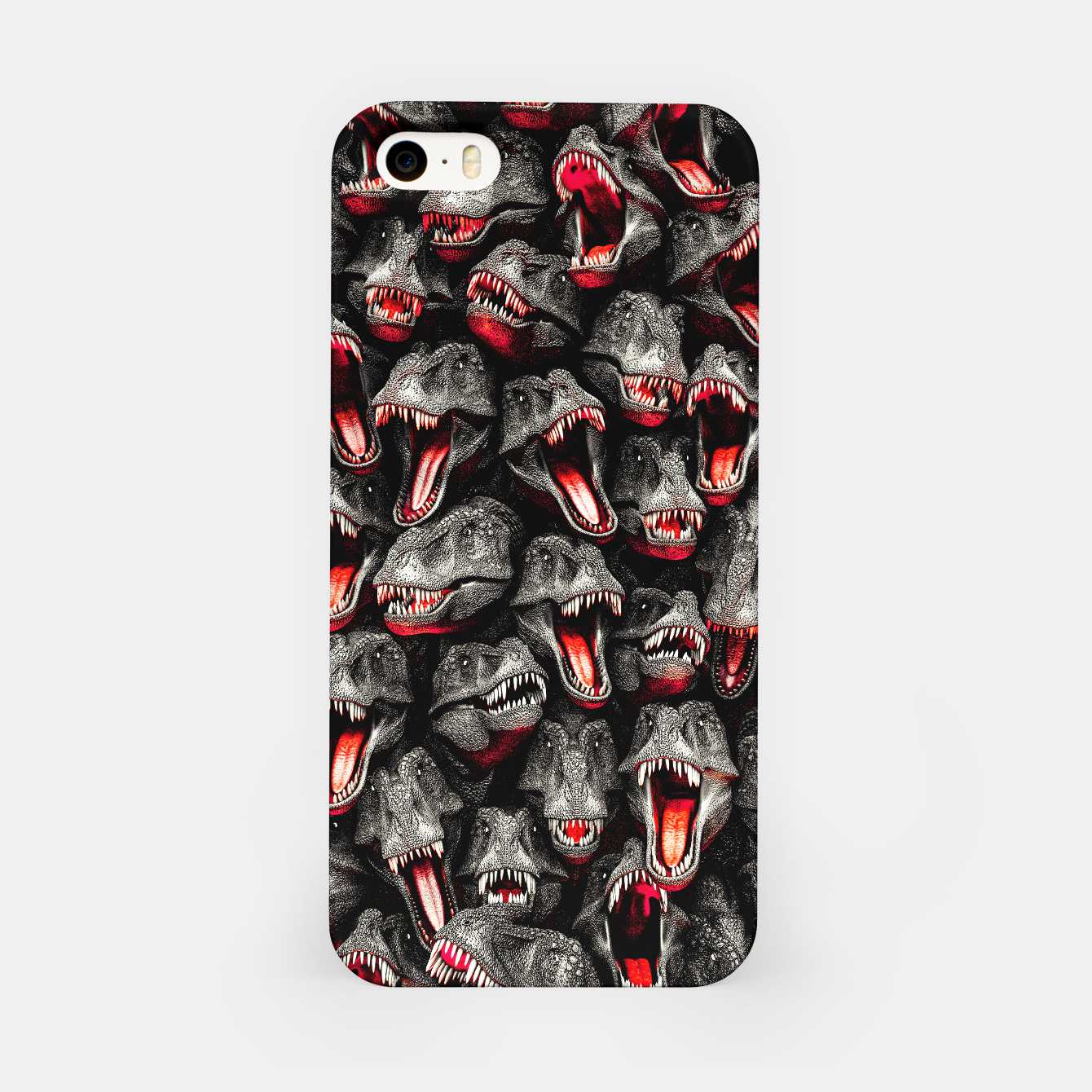 Image of T-Rex Feeding Time iPhone Case - Live Heroes