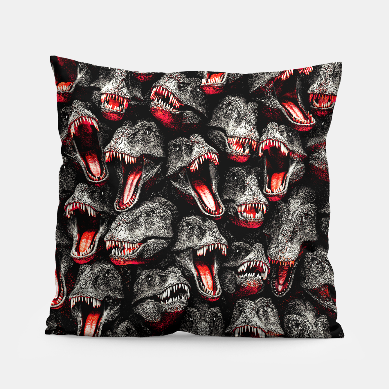 Image of T-Rex Feeding Time Pillow - Live Heroes
