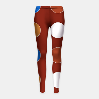 Thumbnail image of Vintage combination 1-5 Leggings para niña, Live Heroes